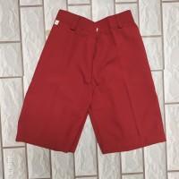 celana sekolah sd pendek celana merah sd pendek size 11