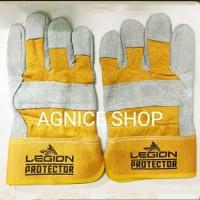 Sarung Tangan Kulit Kombinasi Legion Protector Las Gerinda Proyek