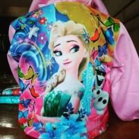 Jaket Coat Anak Perempuan Frozen Pink