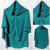 Jilbab Ceruty Premium Hijau Tosca Polos