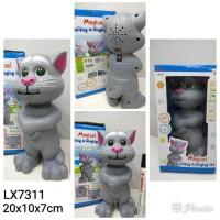 FREE Batere Mainan anak Talking and Singing Cat Tomcat (20cm)