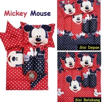 BEST MICKEY MOUSE BABY BED SET BEDCOVER SELIMUT BANTAL COVER CROWN