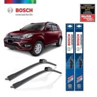 Wiper Mobil Frameless Daihatsu Terios Sepasang Bosch Clear Advantage