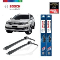 Wiper Mobil Frameless Toyota Fortuner Sepasang Bosch Clear Advantage