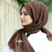 Crinkle Hijab Arabian Pashmina Crinkle Shawl Import Cotton Modis Hijab