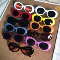 Kacamata Retro Vintage Tumblr Rock Star Kurt Cobain Sunglasses Import
