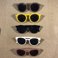 Kacamata Hitam Retro Vintage Korean Sunglasses Frame Bulat Korea