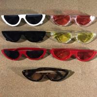 Kacamata Hitam Fashion Retro Vintage Semangka Watermelon Sunglasses