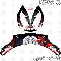 Sticker Decal Helm Venom II for Zeus ZS-811