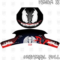 Sticker Decal Helm Venom II for Universal Helm Full