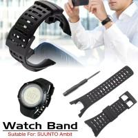 Suunto strap Ambit 1 2 3 peak ambit OEM Tali jam tangan Sunto rubber