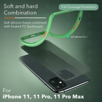 Cafele Case Cover Soft TPU + PC for iphone 11, 11Pro & 11Pro Max