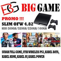 PS 3 SLIM OFW SERI 3XXXX 500GB HARGA PROMO