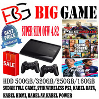 PS 3 SUPERSLIM 500GB FULL GAME HARGA PROMO