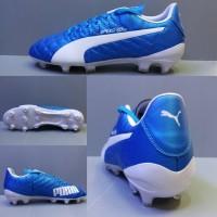 Sepatu Bola Puma Evospeed SL Biru list Putih Grade Ori