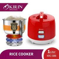 Kirin Rice Cooker 1.0 Liter KRC-088 RED (NEW)