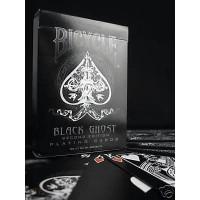 Sale Kartu Remi: Bicycle Black Ghost Playing Cards Ellusionist Obral