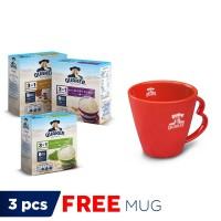 Quaker 3in1 New Variants Package FREE Quaker Mug