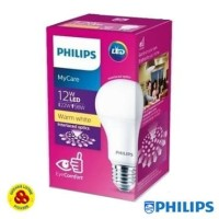 PHILIPS Lampu LED MyCare 12W Kuning Bohlam LED Bulb My Care 12 Watt WW