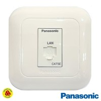 PANASONIC STOP KONTAK DATA CAT5 WEJ2488 RJ45 CAT 5 E
