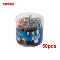 Key Ring / Gantungan Kunci Joyko KR-8 / 1 DRUM 50 PCS