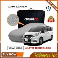 Sarung Cover Body Mobil Premium Fusion 4 Lapis Nissan Serena Waterpoof