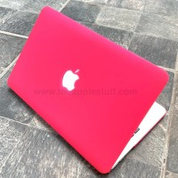 MacBook Case MATTE ROSE RED