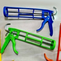 alat tembak lem kaca botol tabung /glue gun/sealant