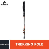 Eiger Javelin Trekking Pole - Orange