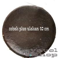 Cobek batu asli 40 cm via grab/gojek