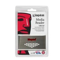 Card Reader Kingston FCR-HS4 - USB 3.0 - SDHC/MicroSD/CF/MSDuo Reader