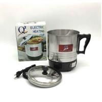 Q2 Mug Elektrik Teko Listrik Stainless 11 cm Pemanas Air/Heater Kettle