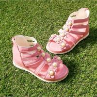 Sepatu Sandal Anak / Import / Accecories Mutiara / Model gladiator