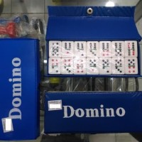 Batu Gaple / Batu Domino Tebal + Tas / Kartu Batu Domino