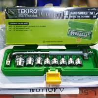 Kunci Sok Set Tekiro 10 pcs 8-24 Box Plastik / 10pcs 8mm - 24mm