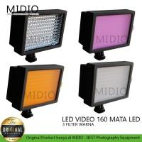 Video LED Taffware Lighting Kamera 160 LED