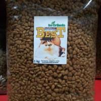 Im Organic Indonesian Best Repack 1kg Makanan Kucing IMO Ibest