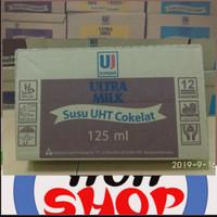 susu ultra rasa coklat 125ml