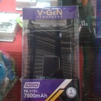 Power Bank V-gen 7500 Mah