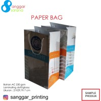 Paper Bag custom design 30x40x10 cm