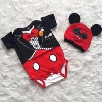 Promo Baju Bayi Jumper Bayi Laki Laki Kostum Kartun Mickey Mouse Jas