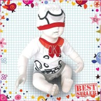 Dijual Baju Bayi Laki Laki Perempuan Lucu Jumper Koki Berkualitas