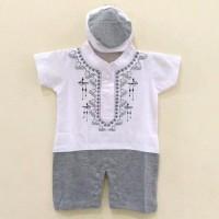 Dijual Baju Romper Jumper Koko Muslim Anak Bayi Laki-Laki ( 1-12 Bln )