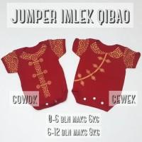 Dijual Baju Jumper Imlek Anak Bayi Laki-Laki Perempuan Cheongsam