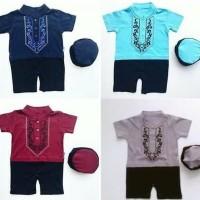 Dijual Baju Muslim Koko Romper Jumper Peci D Anak Bayi Laki Laki