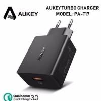 Aukey PA-T17 Single Port QuickCharge 3.0 Qualcomm (tdk termasuk