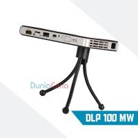 Mini Proyektor Micro Projector DLP 100MW Android WiFi HD 1080P HDMI