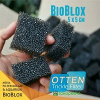 BIOBLOX BIO BLOCK MEDIA FILTER AQUARIUM DAN KOLAM IKAN MURAH MERIAH