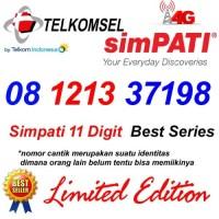 Telkomsel Simpati 11 Digit 08 1213 37198 Kartu Perdana Nomor Cantik 4G