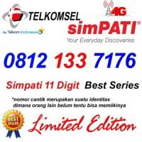 Telkomsel Simpati 11 Digit 0812 133 7176 Kartu Perdana Nomor Cantik 4G
